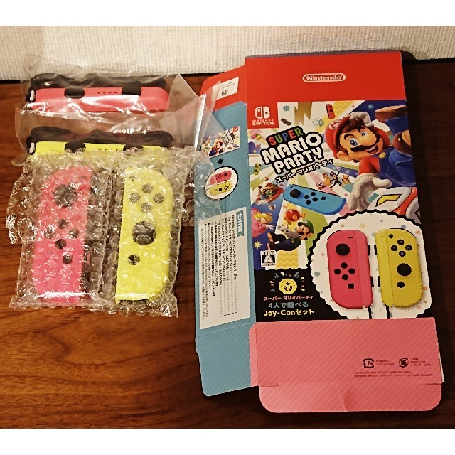 Nintendo Switch(ニンテンドースイッチ)のジョイコン エンタメ/ホビーのゲームソフト/ゲーム機本体(その他)の商品写真