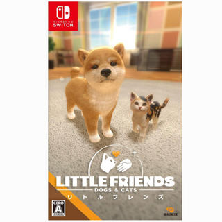 Nintendo Switch - リトルフレンズ little friends dog & cat スイッチ版