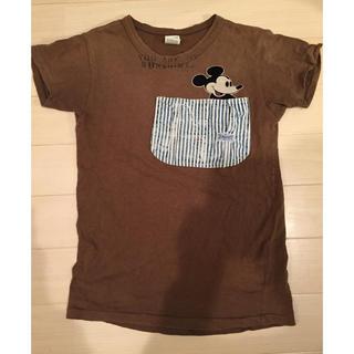 DENIM DUNGAREE - デニム&ダンガリー ミッキー Tシャツ 150cm