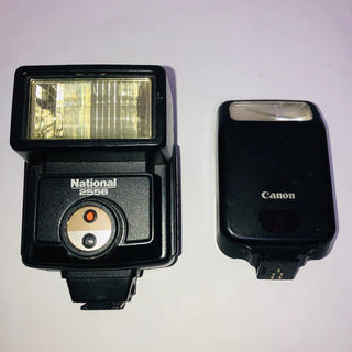 キヤノン(Canon)の【2台セット】Canon  ナショナル  ストロボ(ストロボ/照明)