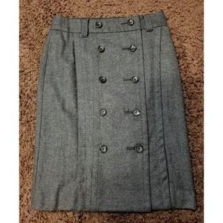 ボディドレッシングデラックス(BODY DRESSING Deluxe)のフロントボタンスカート(ひざ丈スカート)