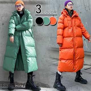 中綿コートレディースコーデ冬フォーマルきれいめ30代20代zr1288a(ロングコート)
