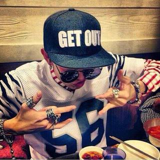 ビッグバン(BIGBANG)のBIGBANG G-DRAGON キャップ(キャップ)