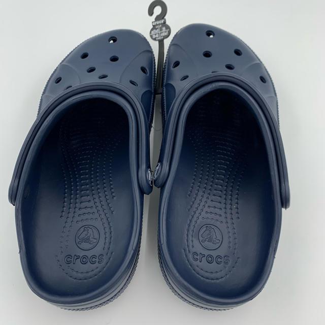 crocs(クロックス)のクロックス 新品未使用 25cm  ネイビー レディースの靴/シューズ(サンダル)の商品写真