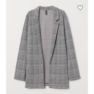 H&M - [新品タグ付き]H&M チェックジャケット