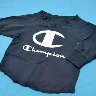チャンピオン(Champion)のChampion オフショルダー トレーナー 100cm(Tシャツ/カットソー)