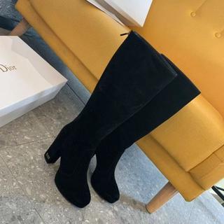 Dior -  DIOR ディオール   ヒールブーツ