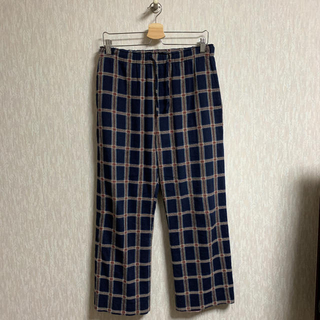 Needles - Needles STRING EASY PANT C/R DOBBY PLAID