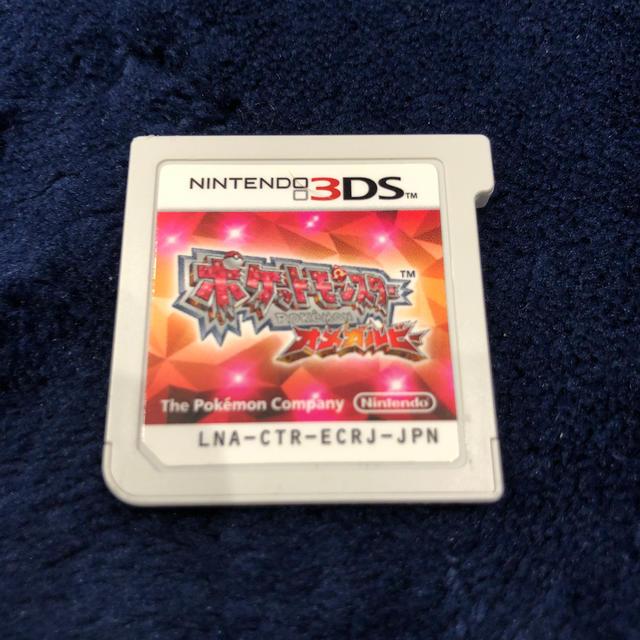 ニンテンドー3DS(ニンテンドー3DS)のポケットモンスターオメガルビー3DS エンタメ/ホビーのゲームソフト/ゲーム機本体(携帯用ゲームソフト)の商品写真