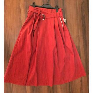 スコットクラブ(SCOT CLUB)のRADLATE フレアスカート ミモレ丈 新品(ロングスカート)