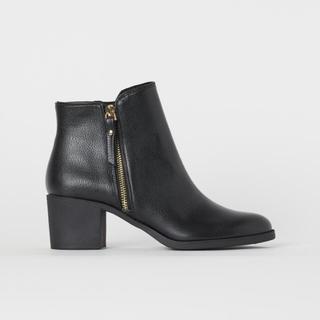 H&M - ☆未使用☆ H&M ショートブーツ 黒 38サイズ