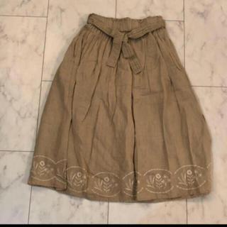 SM2 - TSUHARU 刺繍スカート