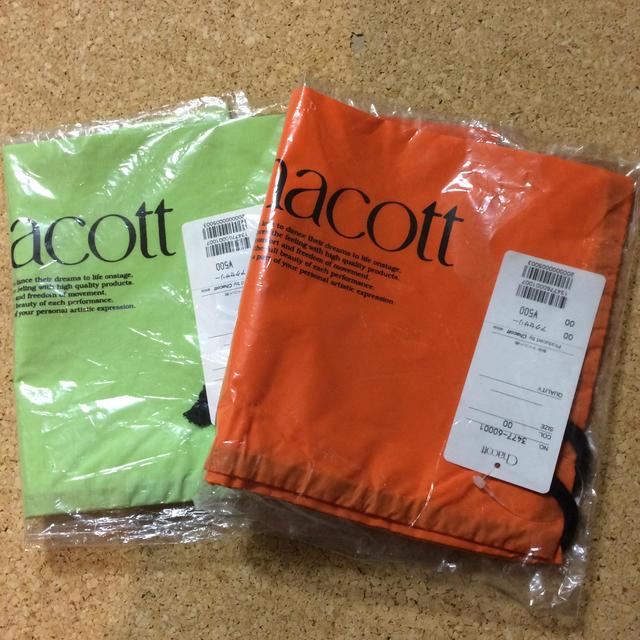CHACOTT(チャコット)のナイロン巾着2枚セット レディースのファッション小物(ポーチ)の商品写真