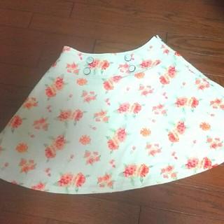 花柄スカート(ミニスカート)