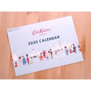 キャスキッドソン(Cath Kidston)のInRed インレッド 1月号 付録 カレンダー(カレンダー/スケジュール)
