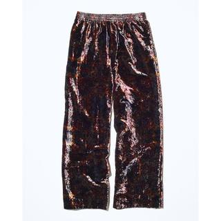 トーガ(TOGA)のTOGA VIRILIS 19AW Velvet print Pants トーガ(スラックス)