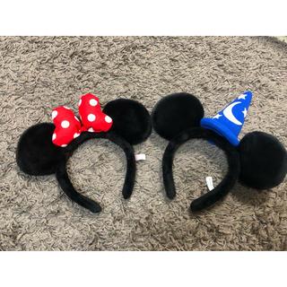 Disney - ミッキー、ミニー カチューシャ