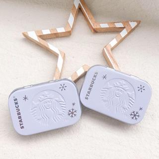 Starbucks Coffee - スターバック 2019 限定 2つ アフターコーヒーミント 缶 ケース スタバ