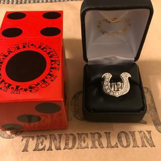 TENDERLOIN - テンダーロイン ホースシューリング指輪新品キムタク着 tenderloin