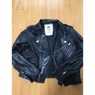ドゥーズィエムクラス(DEUXIEME CLASSE)のIENAslobe購入ライダースジャケット(ライダースジャケット)