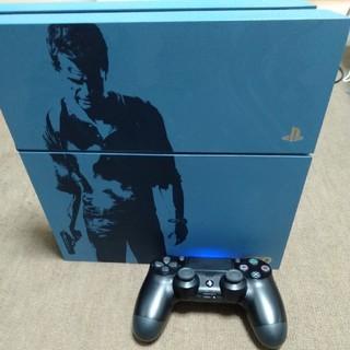 PlayStation4 - プレイステーション4本体(アンチャーテッド)、コントローラー
