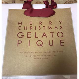 gelato pique - 新品未使用✨今シーズン クリスマス限定 ジェラートピケ 紙袋