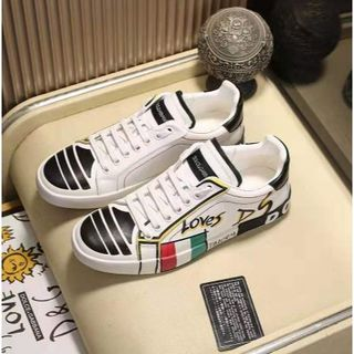 DOLCE&GABBANA - DOLCE&GABBANA靴/シューズ スニーカー