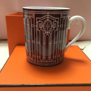 エルメス(Hermes)のエルメス マグカップ  Hデコ  アッシュデコ(グラス/カップ)