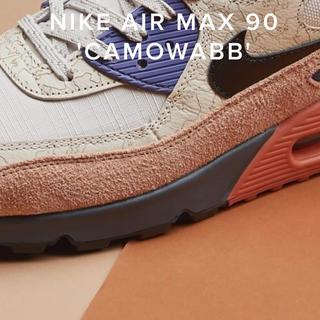 NIKE - Air Max 90 CAMOWABB US8=26cm