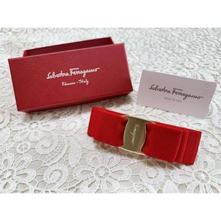 Salvatore Ferragamo - 未使用♡定価¥20900♡SalvatoreFerragamo♡ヴァラ♡バレッタ