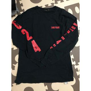 24karats - 最終値下❤️ 即完売❤️ 24karats TWOFOUR 024黒 Tシャツ