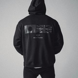 LYFT BLACK×BLACK プルオーバー M