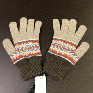ジャーナルスタンダード(JOURNAL STANDARD)のROBERT MACKIE of SCOTLAND ロバートマッキー ウール手袋(手袋)