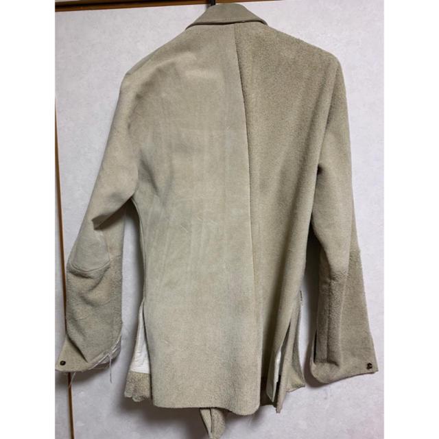 Paul Harnden(ポールハーデン)のOLUBIYI THOMAS スエードジャケット メンズのジャケット/アウター(ライダースジャケット)の商品写真