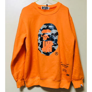A BATHING APE - 新品 a bathing ape undefeated スウェット