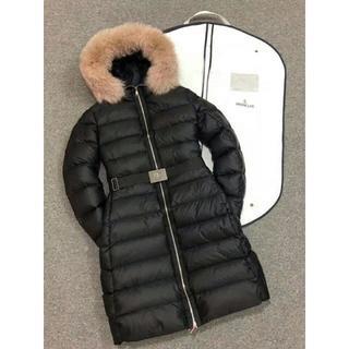 MONCLER - モンクレール ダウンジャケット ロングコート ファー付き