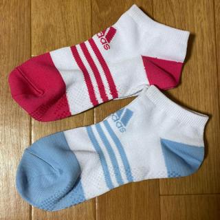【新品/未使用】アディダス 靴下 ソックス 2足セット