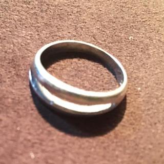 ピンキー シルバー925 リング  7号 プレーン レディース 女性 シンプル (リング(指輪))