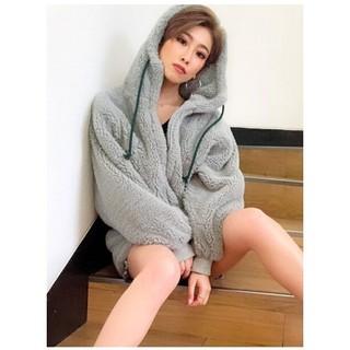 ジェイダ(GYDA)の新品 ボアフードコート(毛皮/ファーコート)