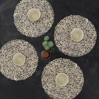 アクタス(ACTUS)の【chilewich 】Petal Champagne 4枚組(テーブル用品)