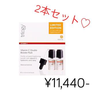 コスメキッチン(Cosme Kitchen)の◆新品◆ ¥11,440- トリロジーCブースタートリートメント2本(美容液)