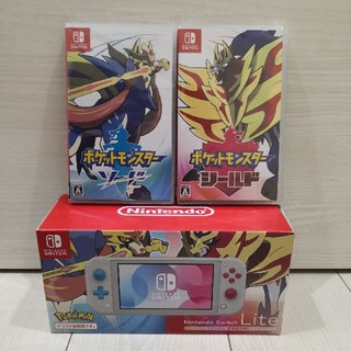 Nintendo Switch - NintendoSwitchLite+ポケモンソードシールド