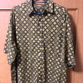 STUSSY - OLD STUSSY モノグラム 半袖シャツ