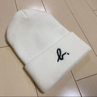 アニエスベー(agnes b.)のアニエスベー  ニット帽 キャップ (ニット帽/ビーニー)