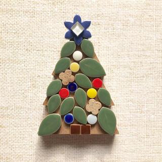 ミニクリスマスツリー①(インテリア雑貨)