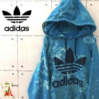 adidas - 【激レア】アディダス adidas トレフォイル デカロゴ スウェット パーカー