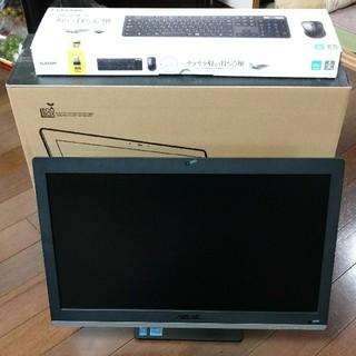 エイスース(ASUS)のASUS All-in-One-PC ET223 core i3 4GB 1TB(デスクトップ型PC)