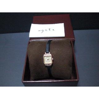 agete - アガット K10 腕時計