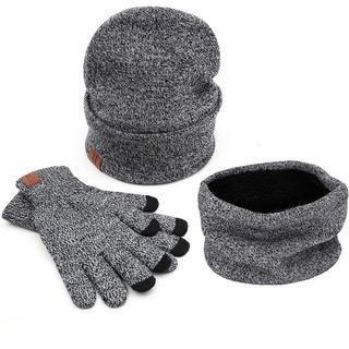 ニット帽 手袋 ネックウォーマー 3点 セット