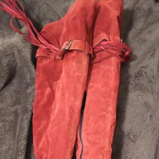 赤のブーツ2足セット(ブーツ)